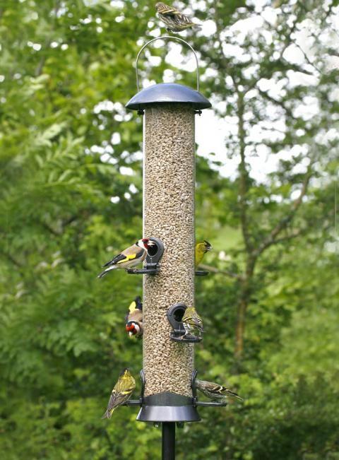 Vogelfuttersaule Maximum Von Vivara Vogelhauschen Garten