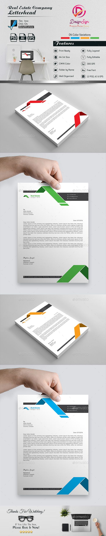 real estate letterhead letterhead templates letterhead