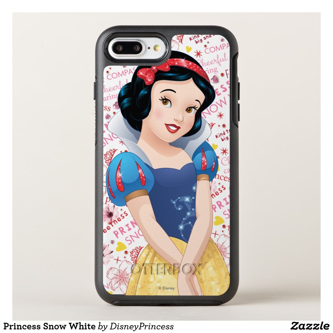 best loved f1866 f68bc Princess Snow White OtterBox iPhone Case | Zazzle.com | harley's ...