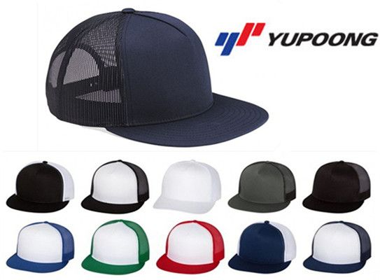 Yupoong 5 Panel Classic Trucker Cap from NYFifth