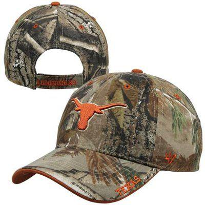 newest f14f1 edadd  47 Brand Texas Longhorns Frost Adjustable Hat - Realtree Camo.