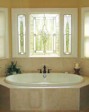 Decorative Windows Tubs Window and Glass