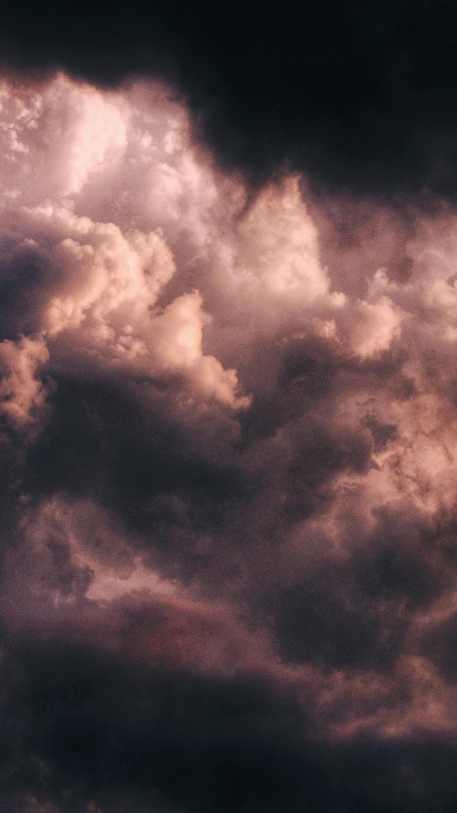 Pin By Boo On Aesthetics Clouds Pretty Wallpaper Iphone Black