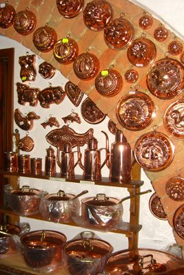This Collection Of Copperware Is Beautiful Have You Ever