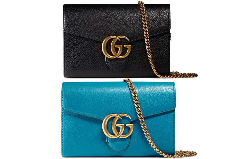 a9f30900d Gucci GG Marmont Chain Wallets | Designer Bag Love | Wallet chain ...