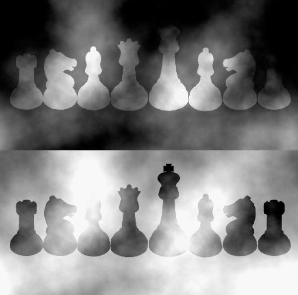 In this illusion by barton l anderson and jonathan winawer the black and white chess pieces are the same color 12 fascinating optical illusions show how