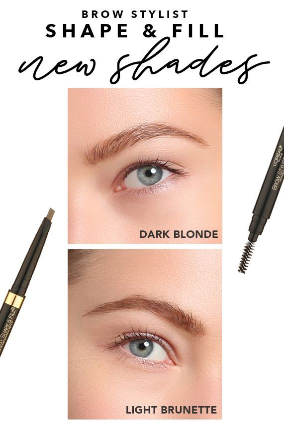 Brow Stylist Shape & Fill - Brow Pencil & Brow Filler in ...