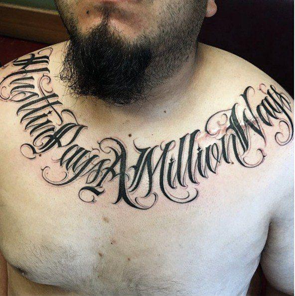 Criminal Lettering Tattoo Nadpisi Kalligrafiya Shrifty