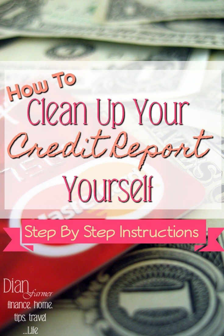 Clean up your credit report yourself credit report frees and it clean up your credit report yourself solutioingenieria Images