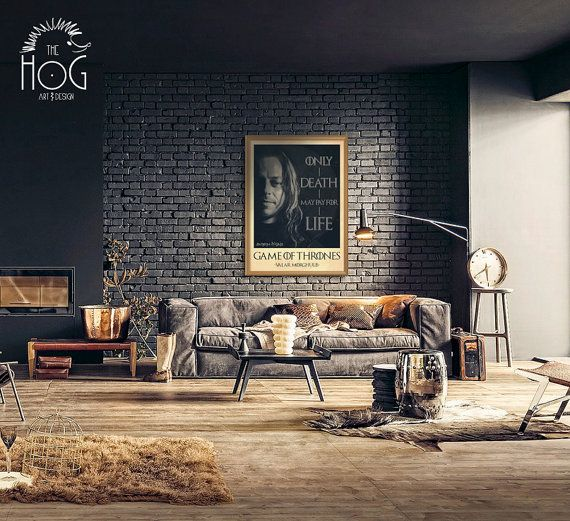 55 Incredible Masculine Living Room Design Ideas Inspirations: Faceless Men Of Bravoos. Game Of Thrones