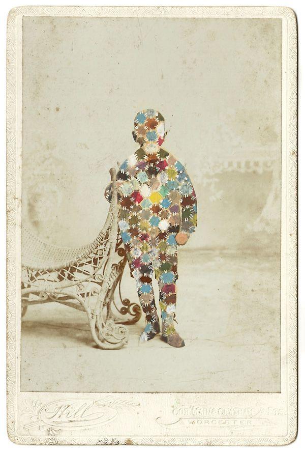 "Cormain (Original) Tom Butler 6.5"" x 4.25"" Gouache on Victorian Cabinet Card $395.00"