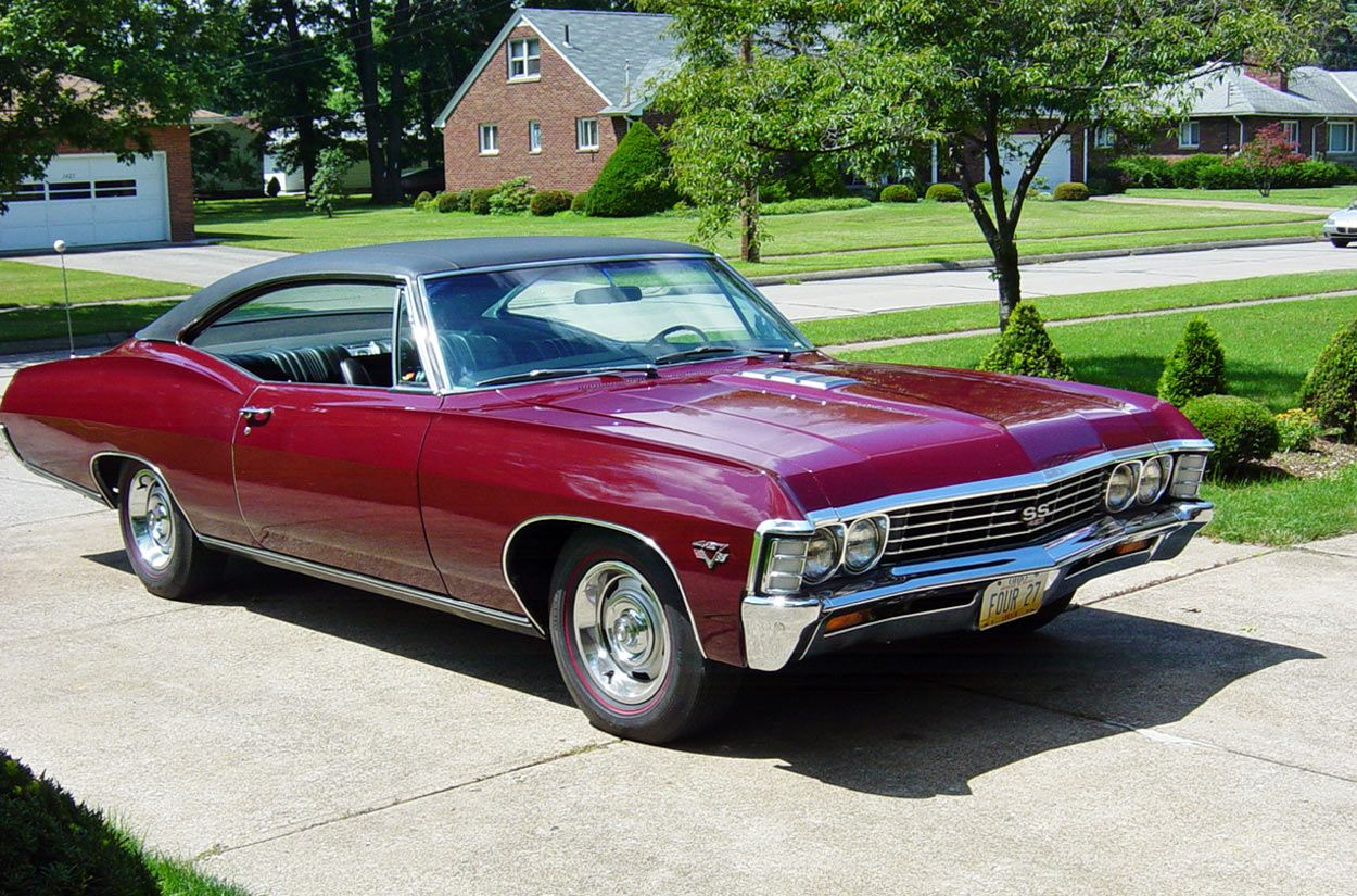 1967 impala ss427 one of the best looking cars of all time and with 385 horsepower and nearly. Black Bedroom Furniture Sets. Home Design Ideas