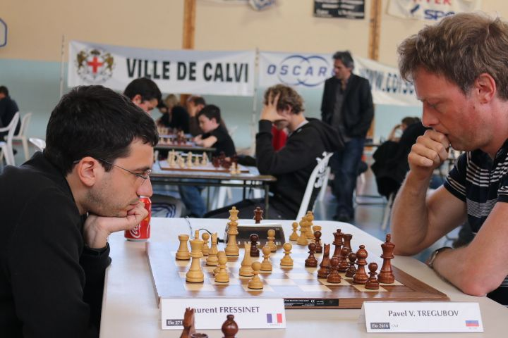 Performance à 3112 elo pour Pavel Tregubov et record de participation à Calvi ! Suivez les tournois d'échecs sur http://viadeo.com/s/X1uDy