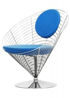 For HansenDiseño Chair By Wire Cone Panton Interior Verner Fritz FK15Tc3luJ