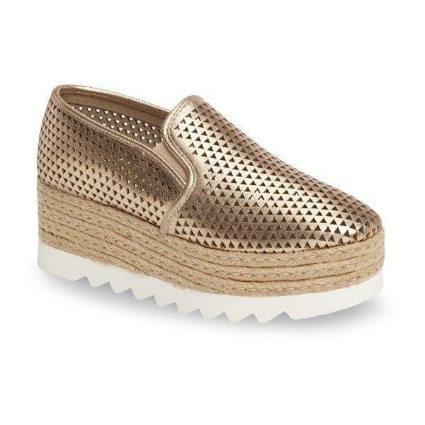 Women's Steve Madden Koreen-P Platform Sneaker (1.545 ARS) ❤ liked on  Polyvore