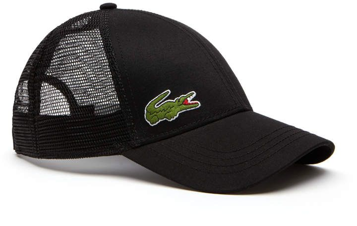 3ee6e781c1 Men's SPORT Gabardine And Mesh Tennis Cap | Products | Lacoste men ...