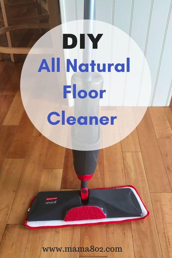 DIY Wood Floor Cleaning Recipe