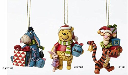 Tigger Christmas Ornaments.Jim Shore Disney Eeyore Winnie The Pooh Tigger Ornament