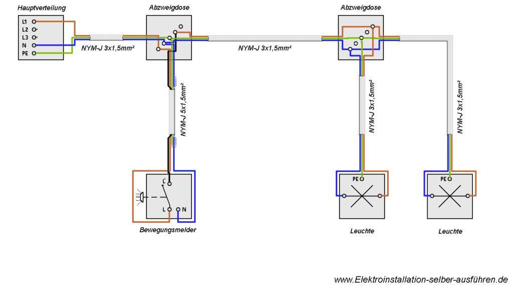 Großartig Lichtschalter Neutralleiter Ideen - Elektrische ...