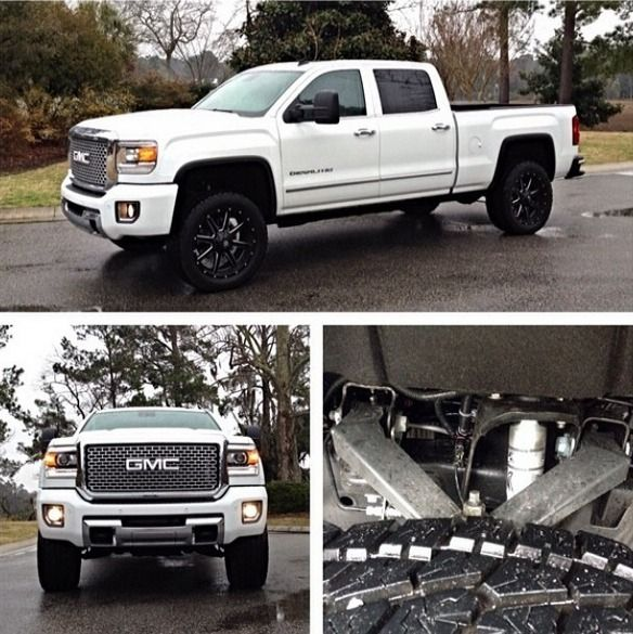 One Of The First ReadyLIFT Leveled 2015 GMC Sierra Denali
