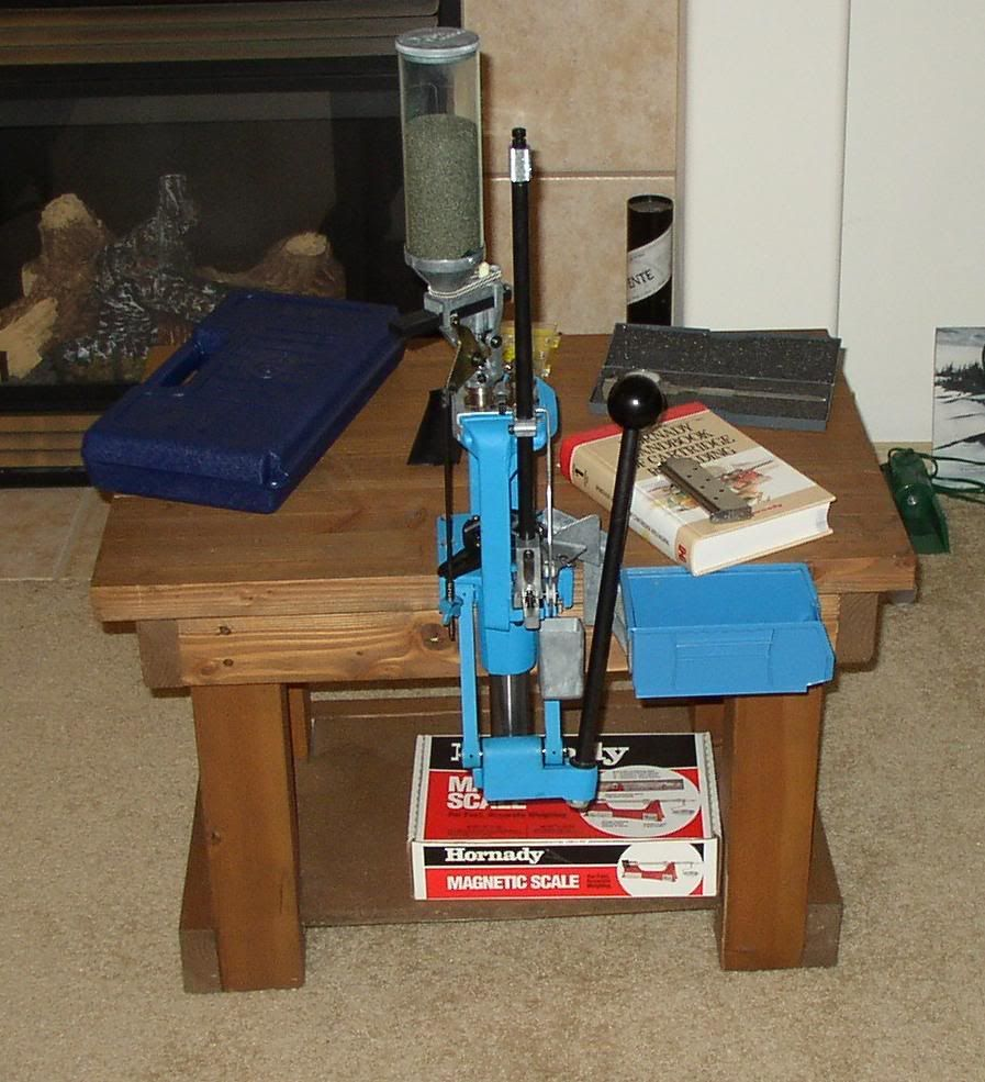 Reloading In A Small Apartment The Firing Line Forums