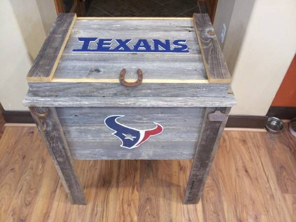 Custom Dog Crate End Table And Rustic Coolers Ice Chests Custom Dog Crate Dog Crate End Table Dog Crate