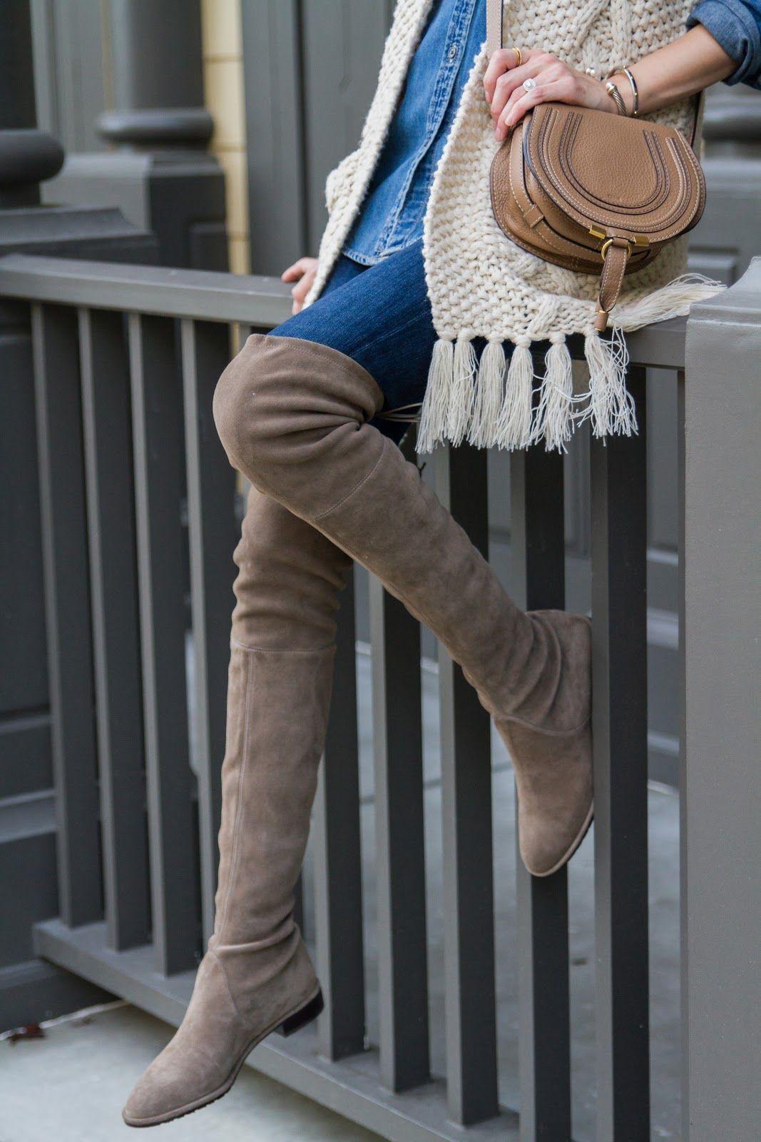 e27f6e69ad Stuart Weitzman Lowland boots | My Style | Stewart weitzman boots ...