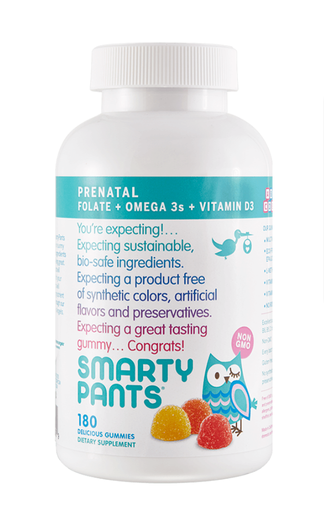 Smartypants Prenatal Gummy Vitamins Each Serving Includes Premium Nutrients A Delicious Multivitamin For Prenatal Multivitamin Multivitamin Gummy Vitamins