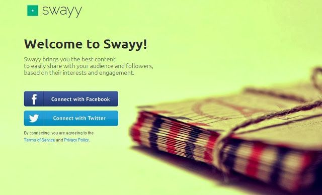Discover the most engaging content to share on social media with Swayy | Social Media, Software, Web on End of Line Magazine