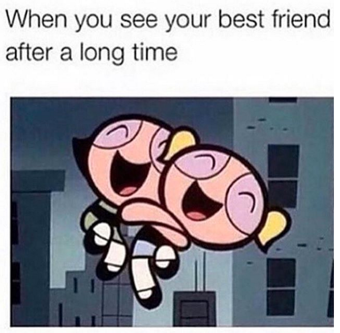 Funny Memes For Bffs : Things you know if your best friend is actually