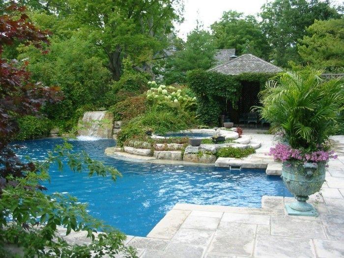 160 tolle bilder von luxus pool im garten luxuri se designs von pool pinterest luxus pools. Black Bedroom Furniture Sets. Home Design Ideas