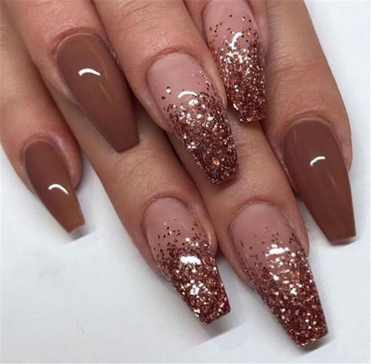 Best Winter Nails For 2017 67 Trending Winter Nail Designs Best Nail Art Bride Nails Fall Acrylic Nails Coffin Nails Designs