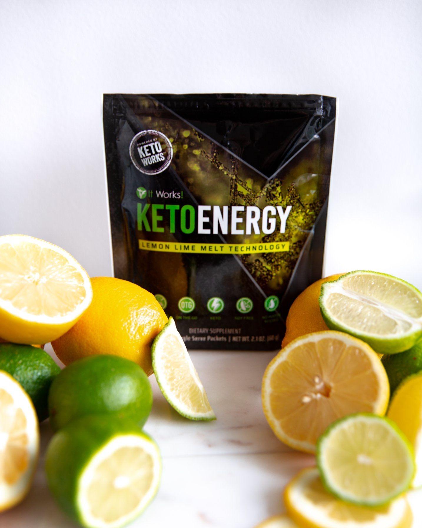 Keto Energy Pixie Sticks Lemon Lime Flavor Contact Me Too Get