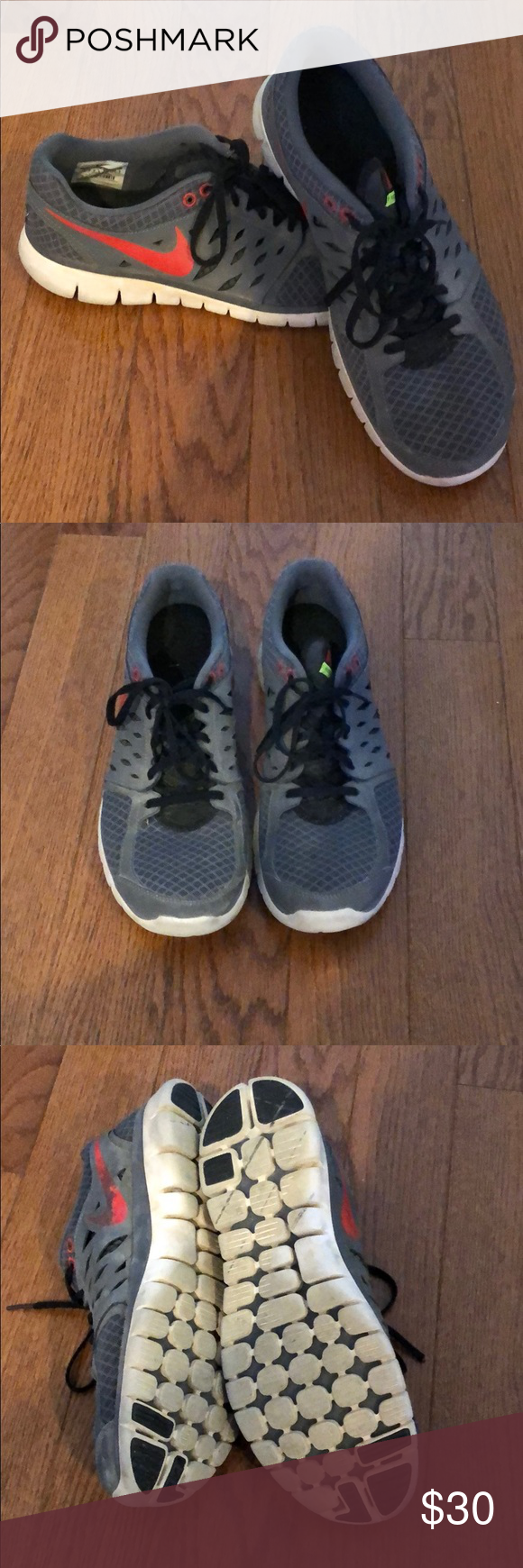 Nike men's running shoes size 10.5 in