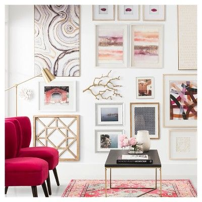 Find Product Information Ratings And Reviews For Mixed Media Gallery Wall Collection Online On Target Com Target Home Decor Target Wall Decor Target Decor