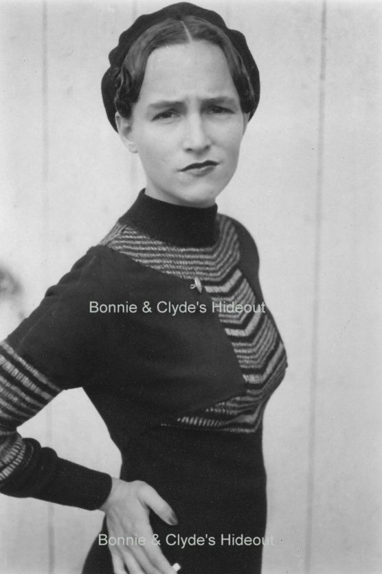 The Real Bonnie And Clyde By All Accounts She Was A Little Spit