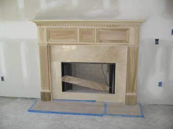 Building a fireplace mantel tutorial Fireplace Mantel Plans