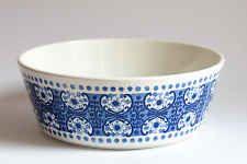 Vintage Arabia Finland - Ali Blue - Large Serving Bowl, Fruit Bowl