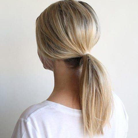 Trend Alert: 3 Easy Ways to Wear a Low Pony #fullerponytail Ever dreamed of a longer, fuller ponytail? This two ponytail trick is just what you need to amp up your pony game. #fullerponytail Trend Alert: 3 Easy Ways to Wear a Low Pony #fullerponytail Ever dreamed of a longer, fuller ponytail? This two ponytail trick is just what you need to amp up your pony game. #fullerponytail