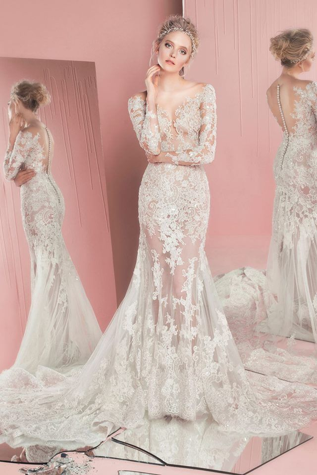 Zuhair Murad's Spring 2016 Bridal Collection. Wedding Gown Gorgeous | ZsaZsa Bellagio - Like No Other