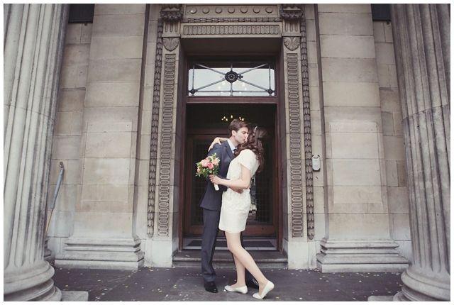 Julie + James / Leafy Hampstead + City Chic Pre Wedding