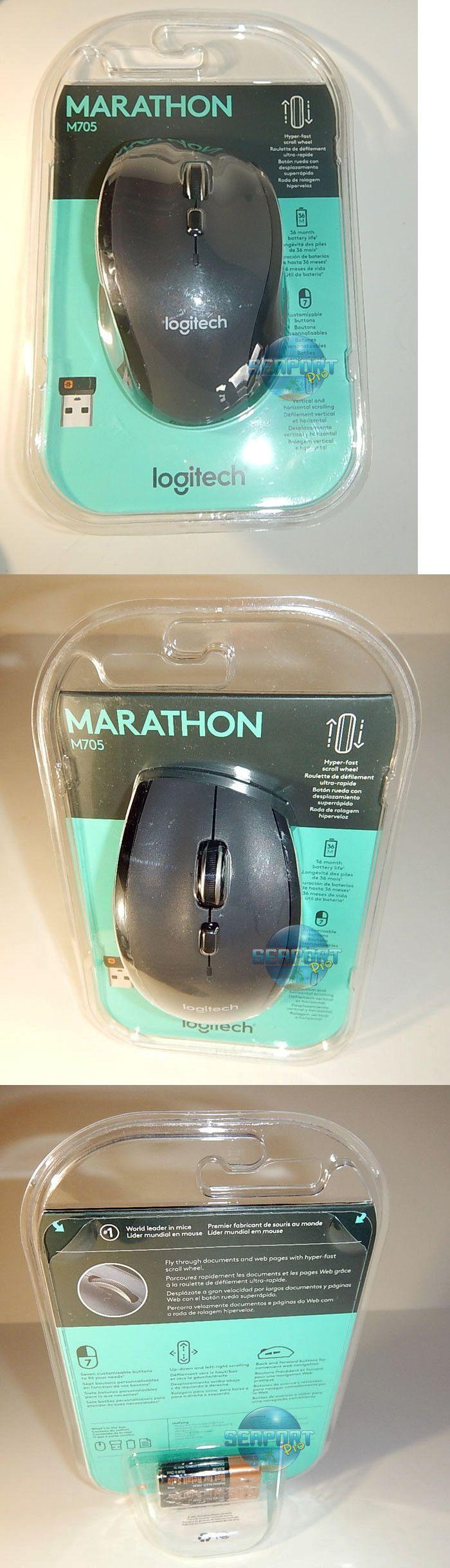 Mice Trackballs and Touchpads 23160: Logitech M705 Marathon Wireless