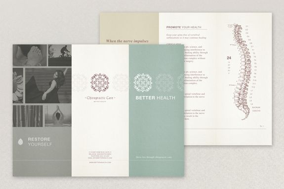 How To Create A Professional Brochure Plus Superb Templates That - Chiropractic brochures template