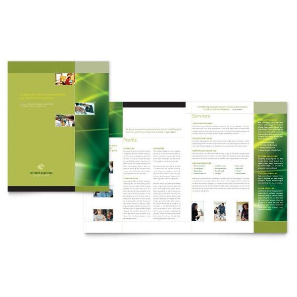 Internet Marketing Brochure Real estate design Pinterest Brochures