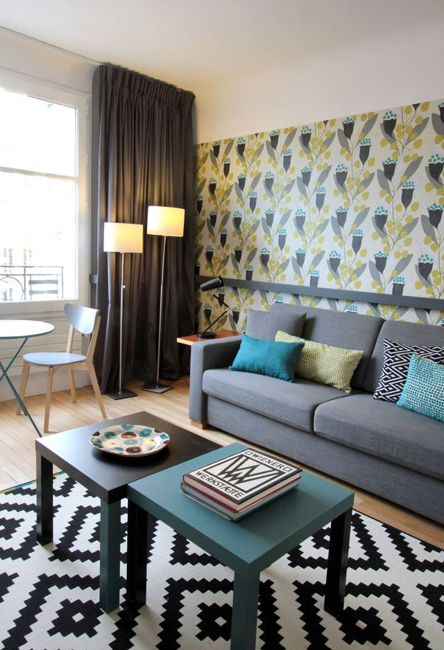 Studio Paris 7 : Aménager Un Petit Appartement De 40 M2