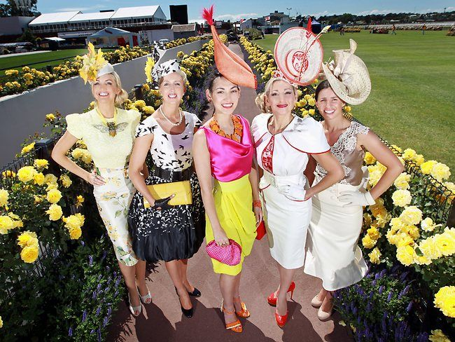 Fashion at the Races Horse Racing Fashion Style Millinery 94