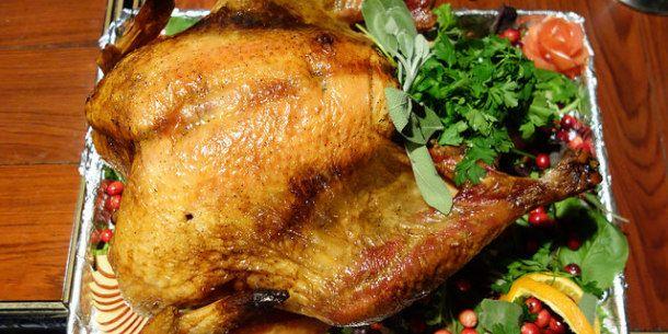 Turkey Dinner on the Road