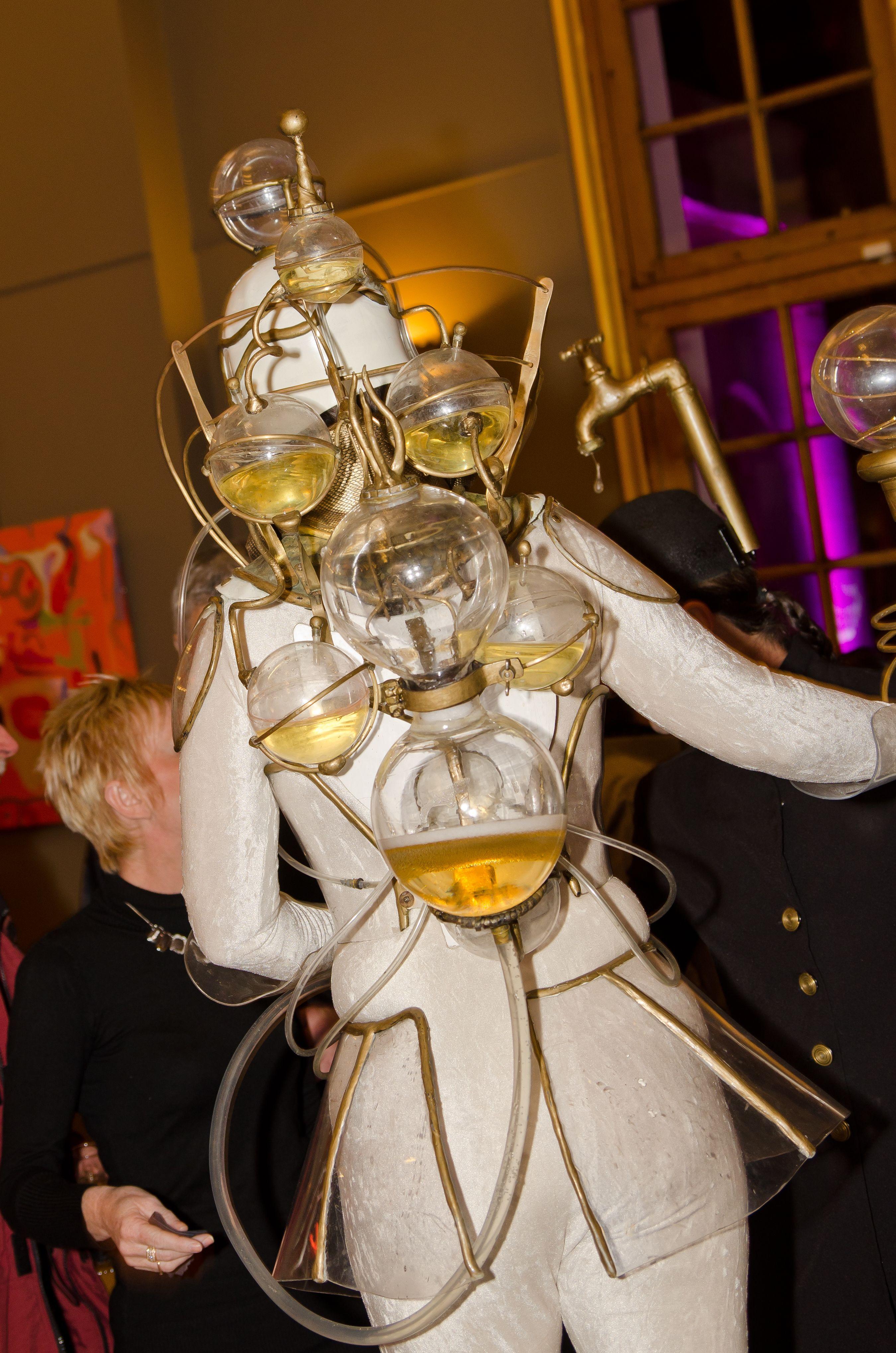 Une porteuse de Champagne très originale !