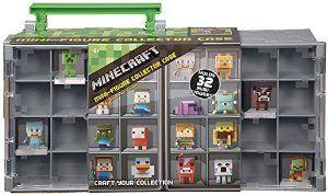 Amazon com: Minecraft Mini Figure Collector Case: Toys