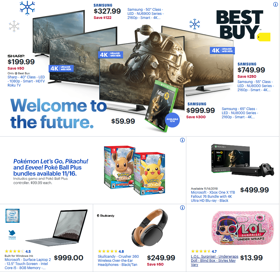 Current Sunday Ad Best Buy Weekly Ad Flyer For This Week Valid November 11 17 2018 Customers Can Find Best B Cool Things To Buy Weekly Ads Digital Coupons